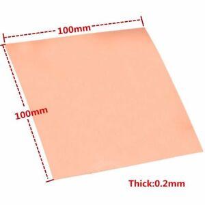1pc-99-9-Pure-Copper-Cu-Metal-Sheet-Foil-Copper-Plate-0-2-100-100mm-ca