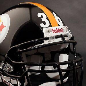 PITTSBURGH STEELERS Football Helmet Decals Stickers NUMBERS - Motorcycle helmet decals and stickers