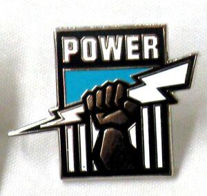 33688-PORT-ADELAIDE-POWER-AFL-TEAM-LOGO-MASCOT-LAPEL-TIE-HAT-PIN
