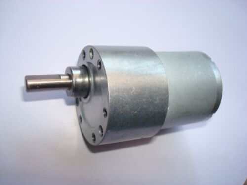 37GB-528 6V 100RPM Output Speed Cylinder Shape DC Gearbox Geared Motor