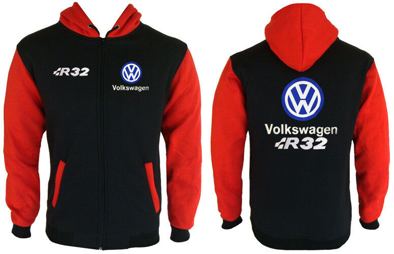Volkswagen VW R32 Hoodie Sweat Sweat Sweat à Capuche 0825fc
