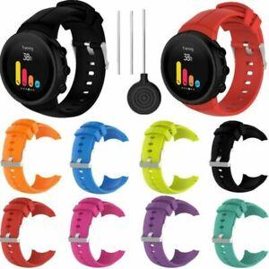 Sport-Silikon-Uhrenarmband-Armband-Strap-Fuer-Suunto-Spartan-Ultra-Uhr-Mit-Tools
