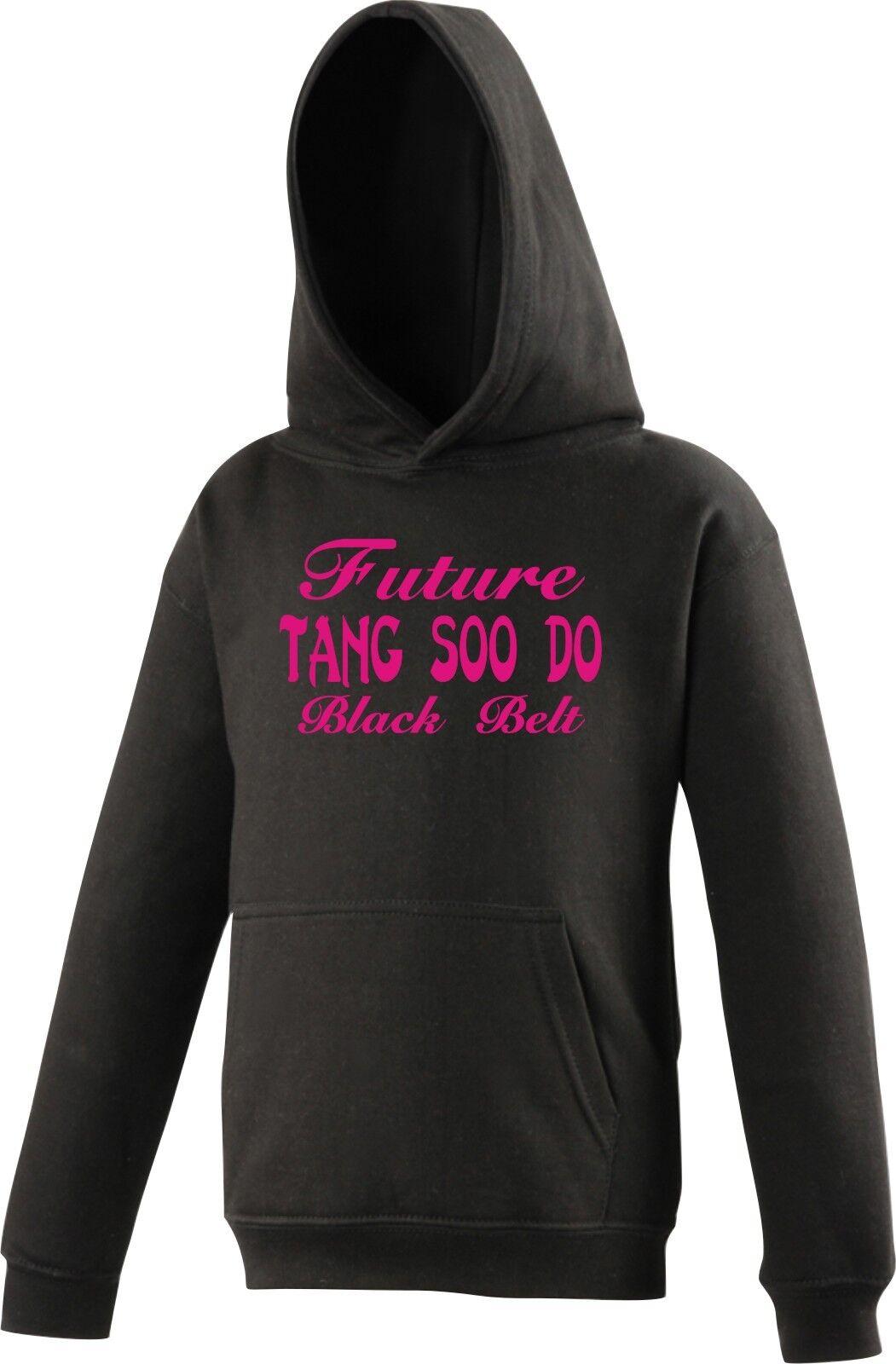 personnalisé enfants pull à capuche Tang Soo Do avenir avenir avenir noir ceinture 4cc520