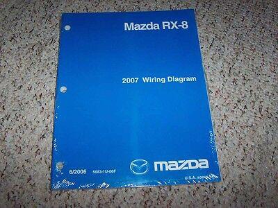 2007 Mazda RX-8 RX8 Factory Original Electrical Wiring ...
