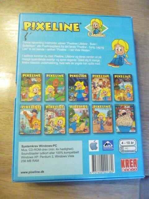 Pixeline 10 klassiske Pixelinespil, til pc, anden genre