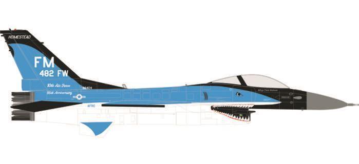 HE580250 Herpa 1 72 United States Air Force F-16c Model Airplane