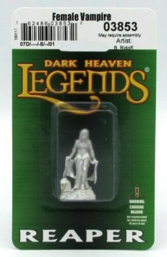 Vampire Bloodlords Miniature 25mm Heroic Scale Figure Dark Heaven Bones Reaper Miniatures