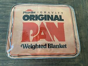 Gravity Blanket x Pizza Hut The Original Pan Weighted Blanket IN HAND TODAY
