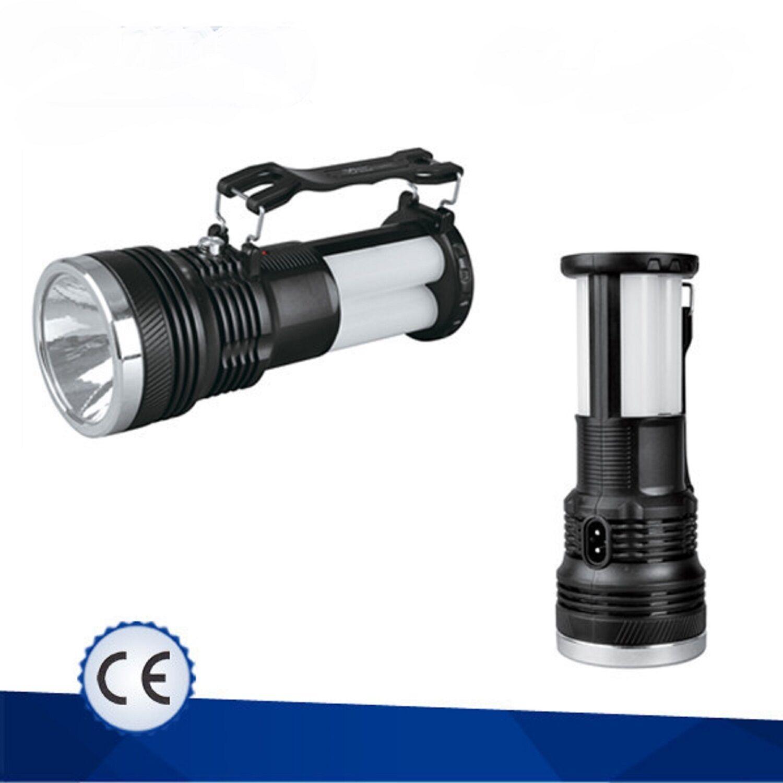 Lampe Torche Rechargeable Solaire Secteur 230v A Led Camping