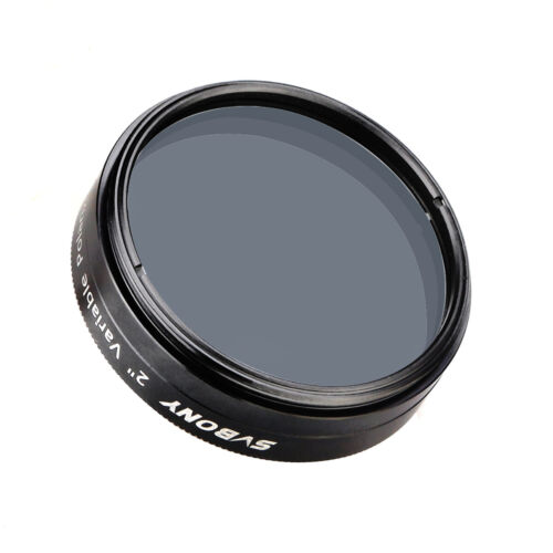"SVBONY 2/"" Variable Polarizing Eyepiece Filters for Viewing the Moon Planet SV128"