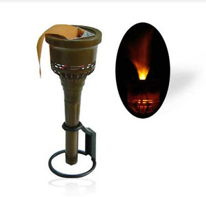 Wall Mounted Torch Lights : Torch Fake Flame Light Party Stage Decor Prop Wall Mounted Set or Hand Held