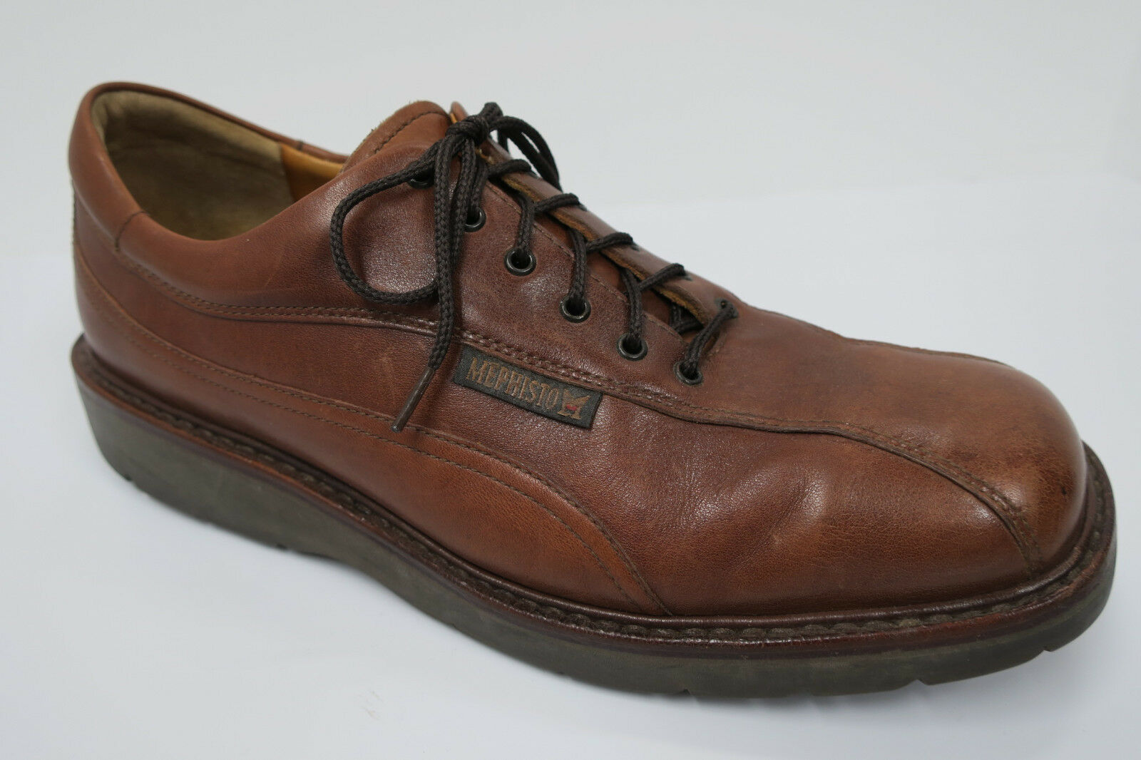 9db37bd479f11e Bicycle Oxfords 9 made in France Brown toe MEPHISTO nsqkmk4883 ...
