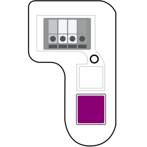 For LiftMaster 371LM COMPATIBLE PURPLE Learn Button Garage Door Remote 315mhz