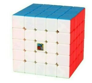 Zauberwuerfel-5x5-MoYu-Meilong-stickerless-Original-speedcube-magic-cube-brandneu