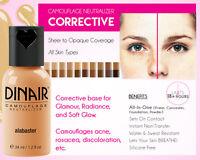 Dinair Airbrush Makeup Camouflage Neutralizer Foundation 4 Acne, Vitiligo, Scars