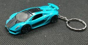 Hotwheels-Lamborghini-Sesto-Elemento-KEYRING-automovil-de-fundicion