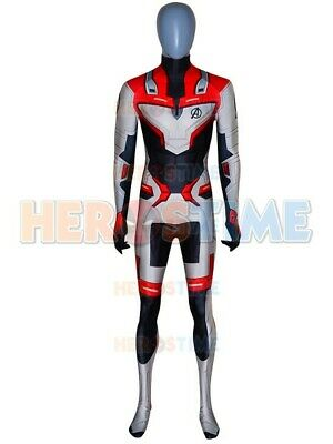 Endgame Quantum Realm Costume Avengers 4 Cosplay Suit  For Adult//Kids