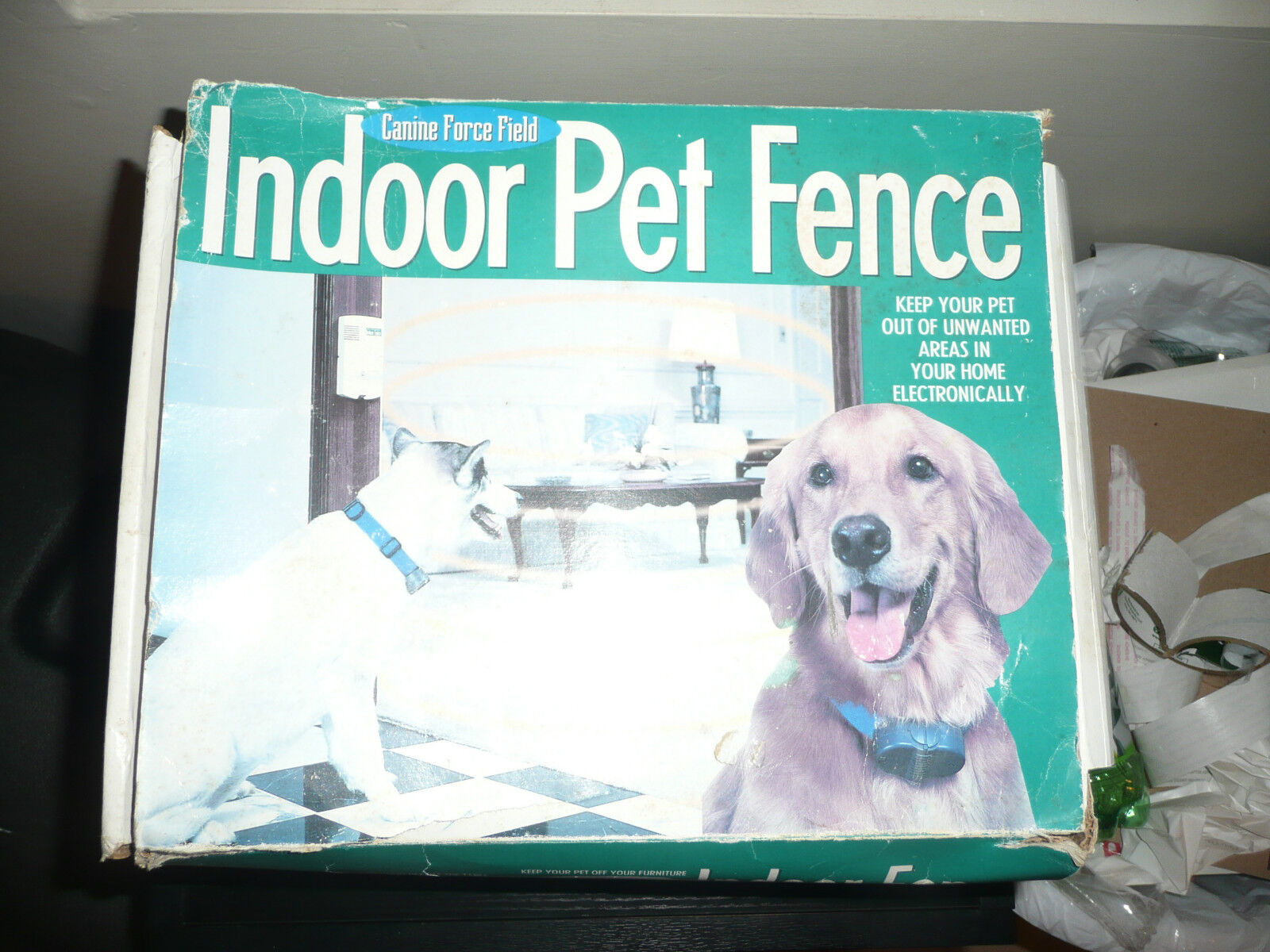 Indoor Pet Fence Canine Force Field 21st Century  New Opened Box 100% complete