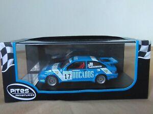 Pites-Trofeu-1-43-Ford-Sierra-RS-Cosworth-R-Santana-B-Alonso-Corte-Ingles-1988