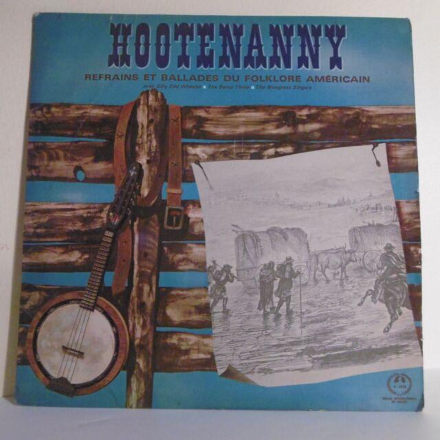 33T HOOTENANNY Vinyl LP 12