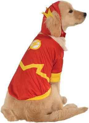 Flash DC Comics Superhero Justice League Dress Up Halloween Pet Dog Cat Costume