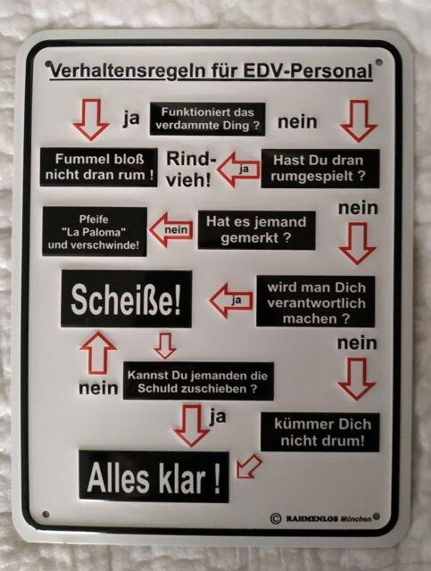 17 x 22 cm Blechschild Schild Verhaltensregeln für Teenager NEU ca