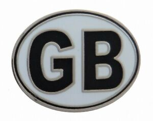 ' Gb' Grande-bretagne / United Kingdom Véhicule Code Autocollant Badge