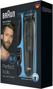 Braun-MGK3020-Multi-Kit-de-Cuidado-Personal-6-in-1-Barba-y-Pelo-Recortar-Nuevo