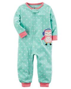 0fa2c6550e2b NWT Carters Kid Girl Aqua Owl Holiday Fleece Footless Blanket ...