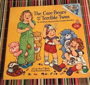 Vintage-034-THE-CARE-BEARS-AND-THE-TERRIBLE-TWOS-034-by-Ali-Reich-1983-BOOK