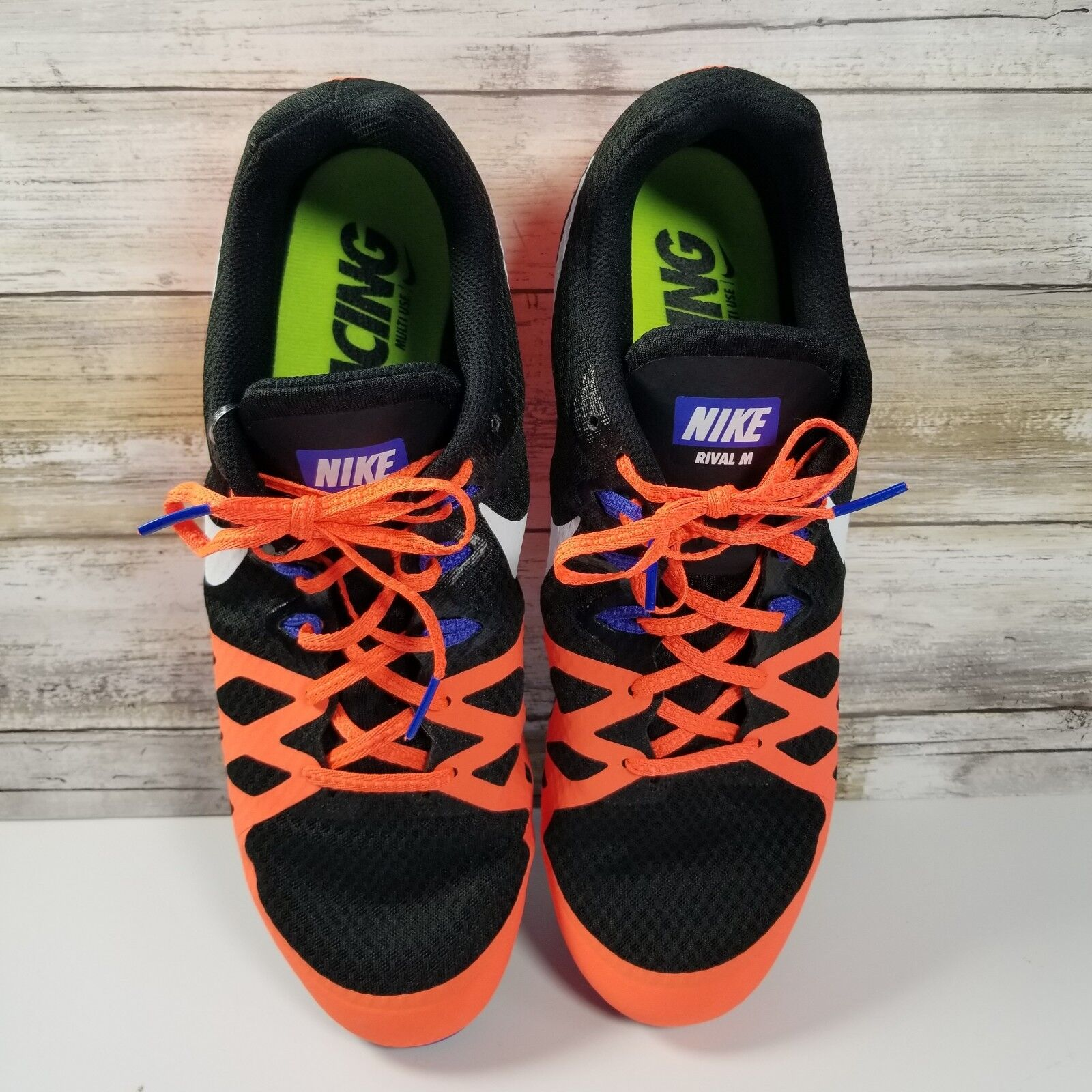 Nike zoom da rivale degli uomini di scarpe da zoom corsa, con picchi traccia sprint nwot misura 12,5 d1215c