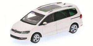 Volkswagen Sharan 2010 Blanc Modèle 1:43 Minichamps