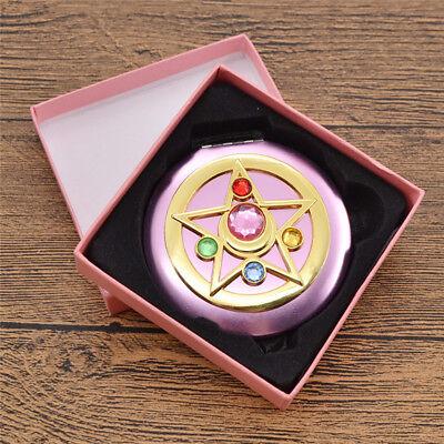 Sailor Moon Moonlight Memory Series Crystal Star Mirror Case Cosmetic Make up