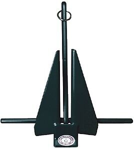 17/'-22/' Boat Fluke Anchor 11lb Greenfield Products 669-11-W White