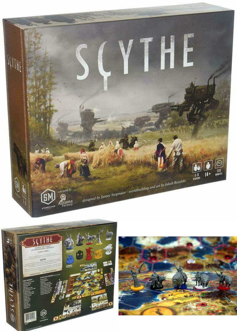 Scythe Board jeu multijoueur stratégie Historique Jeux 115 m Playtime