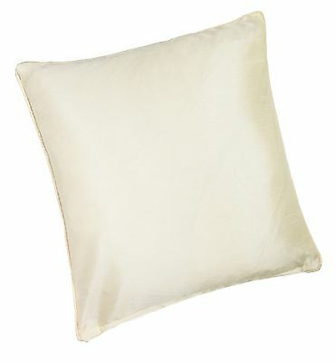 Whitakers FinestPlain Faux Silk 45cm x 45cm Cushion with Inner Pad Purple