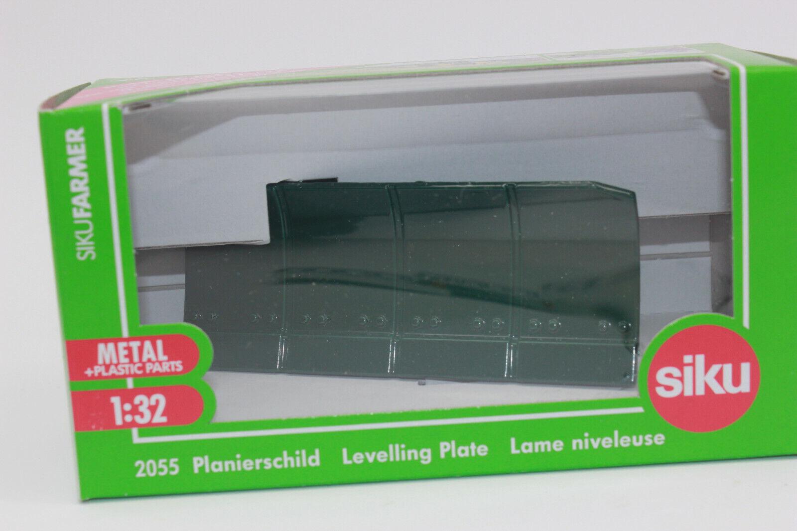 Zz Siku 2055 Lame Niveleuse green Mousse 1 3 2 Nouvelles en Emballage D'Origine