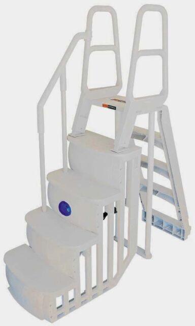 Surprising Main Access 200100T Above Ground Pool Ladder System Creativecarmelina Interior Chair Design Creativecarmelinacom