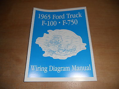 1965 ford wiring schematic 1965 ford f450 f550 f650 f750 wiring diagrams manual ebay  1965 ford f450 f550 f650 f750 wiring