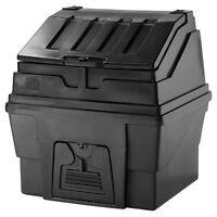 Edale Black Plastic 300kg Capacity Coal Bunker