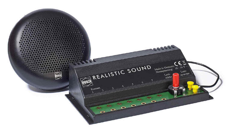 Busch 5783 realistic sound Fattoria Nuovo/Scatola Originale