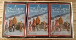 Vintage Readers Digest Christmas Through the Years 3 Cassette Tapes Box Set