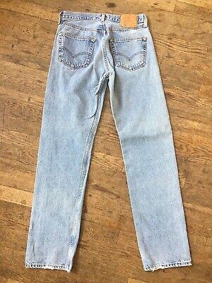 Vintage 80s 90s Klassisch Levis 501 Blau Jeans Herren 32 34 Denim Hose USA Knopf   eBay