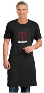 Broad Bay Deluxe Texas A/&M Mom Apron Official Texas A/&M Aggies Mom Logo Aprons