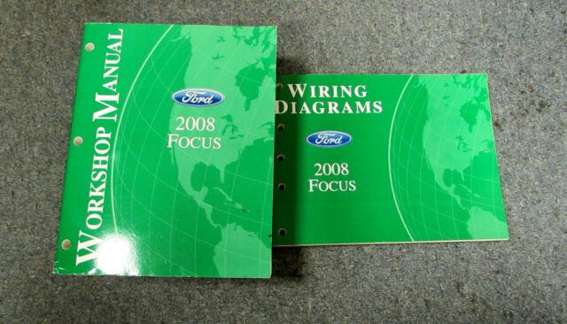 Diagram  2007 Ford Focus Service Repair Shop Manual Set