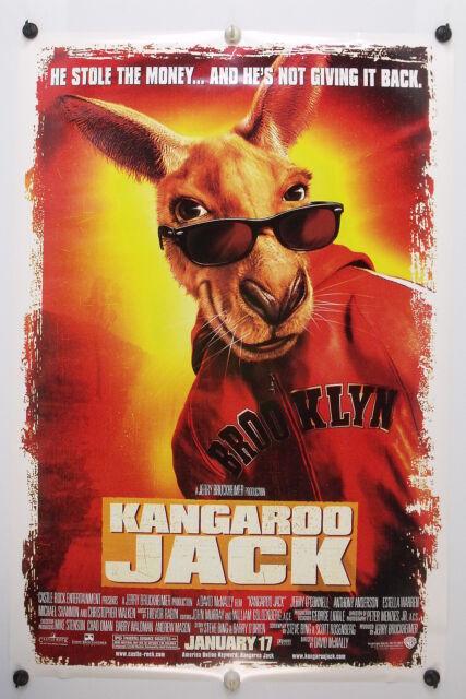 KANGAROO JACK - Christopher Walken - Original Movie Poster ...