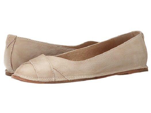 New in Box femmes Frye Ember Cross Ballet Cement Sunwash Nuubuck Taille 6.5 72096