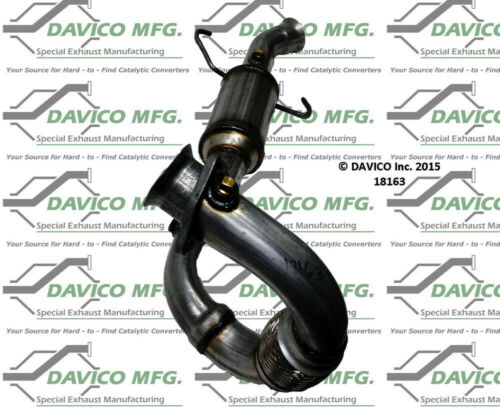 Catalytic Converter-Exact-Fit Davico Exc CA 18163
