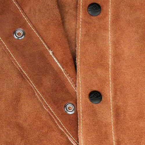 2XL Revco Black Stallion Split Cowhide Leather Welding Jacket 30WC
