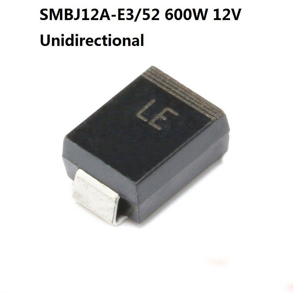 TVS DIODE 12V 19.9V SMB Pack of 100 SMBJ12A
